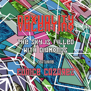 Dexuality Valentino Featuring Eunice Cazarez - The sky is filled with diamonds radio edit (jynnji records 2018)
