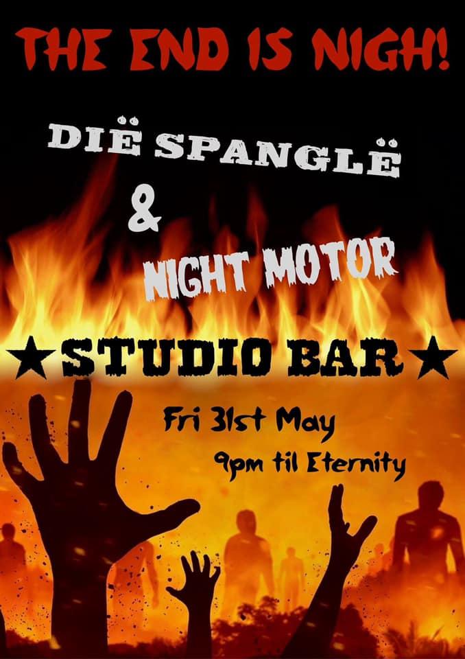 Last Dance in the Last Chance Saloon - Dië Spanglë & Night Motor