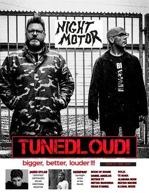 Night Motor - Cover Feature TunedLoud
